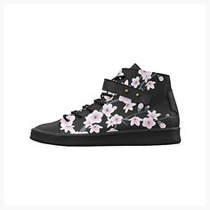 Artsadd Cherry Blossoms Round Toe Womens Shoes Boost Sneaker (*Partner Link)