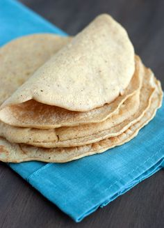Low Carb Tortilla Recipe - The Low Carb Diet