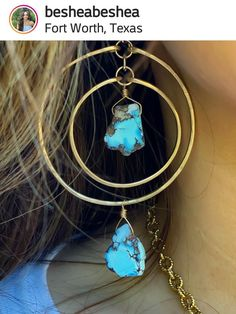 Kazakhstan Turquoise earrings from @besheabeshea Kazakhstan, Turquoise Earrings, Jewelry, Fashion, Moda, Jewels, Fashion Styles, Schmuck, Jewerly