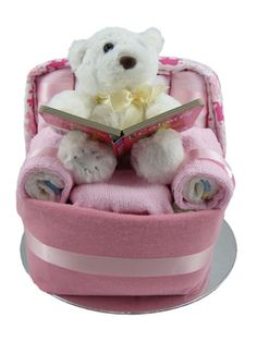 Chair Creative Nappy Cake - Munchkin Nappy Cakes