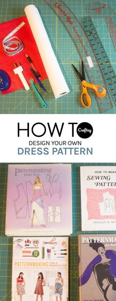 Ever wanted to design and sew your own dress? Learn how with these tips and tricks.
