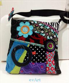 ★ Crazy Patchwork Tasche ★
