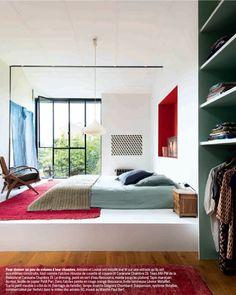 Loft Montreuil -Victoria & Antoine Pradels - Marie-Claire Maison - Photo Vincent Leroux/Temps Machine