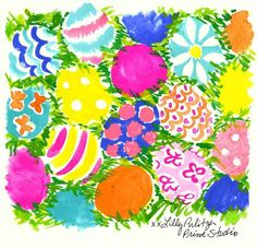 Twitter Lilly Pulitzer Prints, Lily Pulitzer, Hoppy Easter, Easter Eggs, Holiday Fun, Happy Holidays, Pink And Green, Arts And Crafts, Artsy