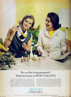 Avon 1964, It's been around for a long time, that says a lot about their products.