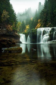 Lower River Falls, Washington