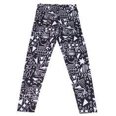 Paramore Black & White Leggings