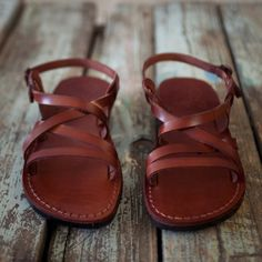 Leather sandals for women greek sandals flat sandals Brown Leather Sandals, Brown Sandals, Strappy Sandals, Flat Sandals, Gladiator Sandals, Women Sandals, Thoughtful Gifts For Her, Greek Sandals, My Collection