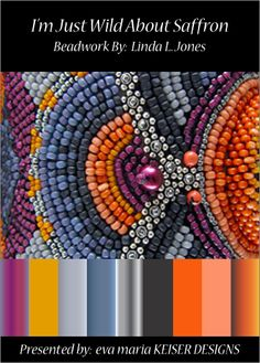 Colorway:  Linda L. Jones  See more on Flicker:  http://www.flickr.com/photos/wildwickedbeads/sets/72157615525268551/