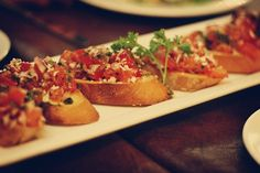 Excellent, very simple and my guests loved it! Great bruschetta recipe
