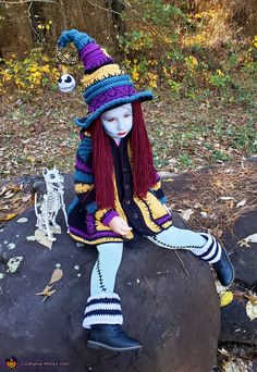 Made with crochetverse twisted witch hat and serged dream coat patterns Crochet Halloween Costume, Crochet Costumes, Halloween Costume Contest, Halloween Costumes For Kids, Halloween Party, Halloween Decorations, Best Kids Costumes, Amazing Costumes, Costume Works