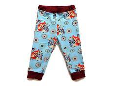 bde9dbd530ad2 Eliz-style-creation. Leggings Bébé 24 mois Jersey Coton Pantalon Enfant 2  ans Fille Garçon Unisexe Maman Renard ...