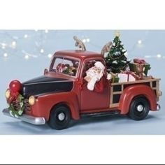 "9.5"" Amusements Animated & Musical LED Lighted Truck Christmas Decoration"