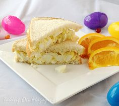 The Egg Salad Sandwich via Taking On Magazines
