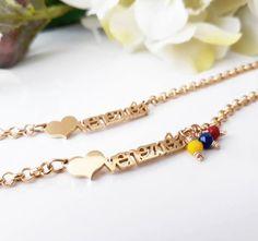 390f25834c0d Venezuela women stainless steel bracelet pulsera de