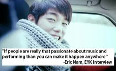 Thank you Eric<3 I really needed that.