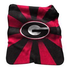 Georgia Bulldogs Raschel Throw #GeorgiaBulldogs