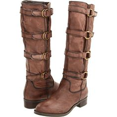 love boots with lots of buckles