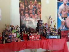 WWE Cake and Candy Layout