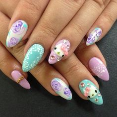 Nail art is important too, there are so many shades, ideas and waya to get creative, no matter your taste