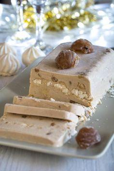 Bûche glacée aux marrons et meringue | Jujube en cuisine