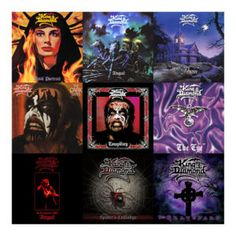 New Round Of KING DIAMOND Pic Disc Vinyl Reissues To Include 'In Concert 1987: Abigail', 'The Spider's Lullabye' & 'The Graveyard'