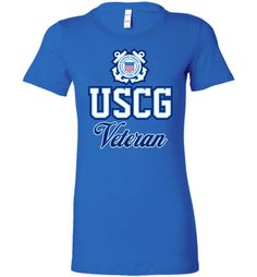 USCG Coast Guard Veteran Women's T-Shirt