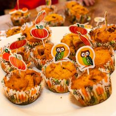 Pumpkin cupcakes and more fun ideas for ways to use pumpkins this year.