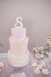 Pink Christening Party via Kara's Party Ideas | KarasPartyIdeas.com #elegant #pink #girl #christening #party #ideas (20)