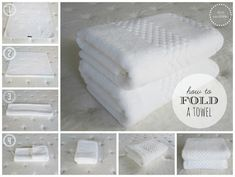 A Bath Towel | 25 Tutorials To Teach You To Fold Things Like An Actual Adult