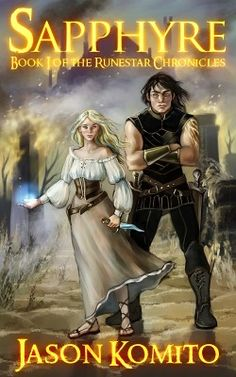 http://bookbarbarian.com/sapphyre-by-jason-komito-3/ - #1 Amazon bestseller in Sword & Sorcery (2014)  Orphan, thief, healer, demon slayer... What else will she become?  Sapphyre has always known she has an innate magical ability, but being an orphan who grew up on the streets, she is unaware of its origin, or how to control it. For the last two winters she has served ale and food in the Dragon's Flagon.  Until one evening, when a thin, dark-skinned stranger arrives t