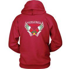 """Pickleball Gangster - Hoodie """"Gangster"""" Logo on Back"""