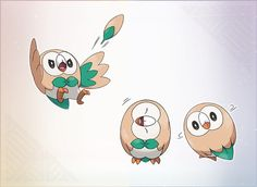 Rowlet - OMG I LOVE ROWLET SO MUCH I CANT WAIT TO GET POKEMON SUN/MOON