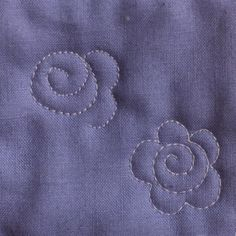 The Easiest Flower Ever - Lori Kennedy Quilts - Easiest Flower and variations – The Inbox Jaunt - Quilting Stencils, Quilting Templates, Longarm Quilting, Quilting Tutorials, Patchwork Quilting, Quilting Projects, Quilting Ideas, Free Motion Embroidery, Free Motion Quilting