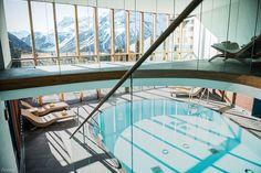 Entspannung, Ruhe und tolle Aussichten in unserem Alpin Spa #wellness #gesundheit #spa #urlaub #arlberg #lech #goldenerberg