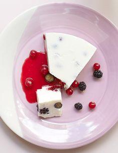 Cheesecake glacé aux fruits