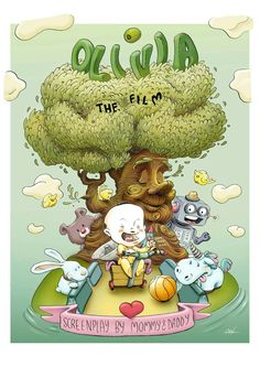 Olivia the film by Ali del Rey Ilustra #alidelreyilustra #olivia #childrenilustration Film, Rey, Bowser, Daddy, Fictional Characters, Movie, Movies, Film Stock, Film Movie