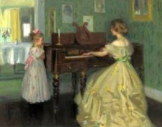 The Critic  by  Francis Day (1863 – 1942, American)