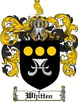 Whitten Coat of Arms / Whitten Family Crest
