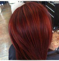 multidimensional red hair