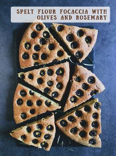 focaccia with olives recipe