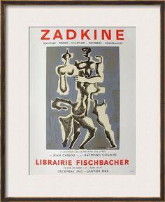 Expo Librairie Fischbacher - Framed Art Print
