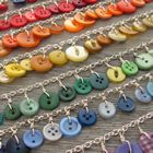 Milomade Button Bracelets (Wired) - Made in a rainbow of colours these bracelets are great to wear.