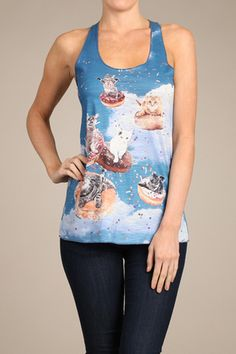 Donut Cats Available online @ shopsimplychic.com Follow us on Instagram, Twitter & Facebook at @SIMPLY CHIC ;-) #WEARECHIC