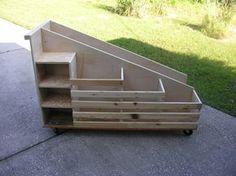 Scrap Lumber Cart