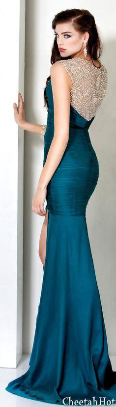 JOVANI - Jewel Embellished Gown