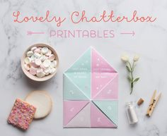 Valentines Chatterbox Printable - In The Playroom