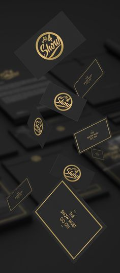 All For Show Branding / Identity by Michael Wave, via Behance
