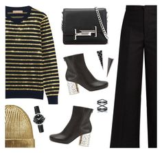 """""""Today"""" by rasa-j ❤ liked on Polyvore featuring Michael Kors, Maison Margiela, Tod's, Isabel Marant, Eva Fehren and Movado"""