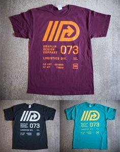 Draplin Design Co. Draplin Design, Id Design, Tee Shirt Designs, Team Shirts, Great T Shirts, Altra Footwear, Identity, Oil Tanker, Design Language